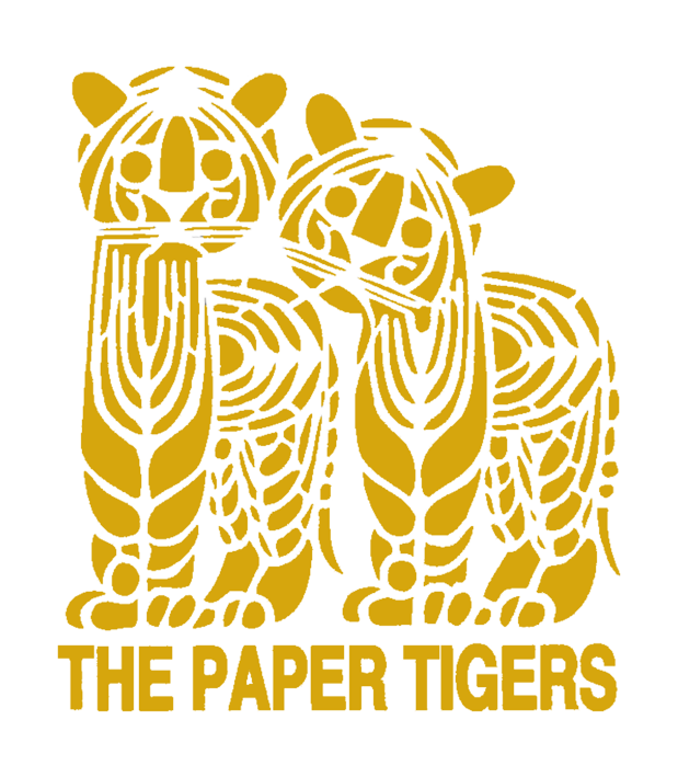 golden the paper tigers logo